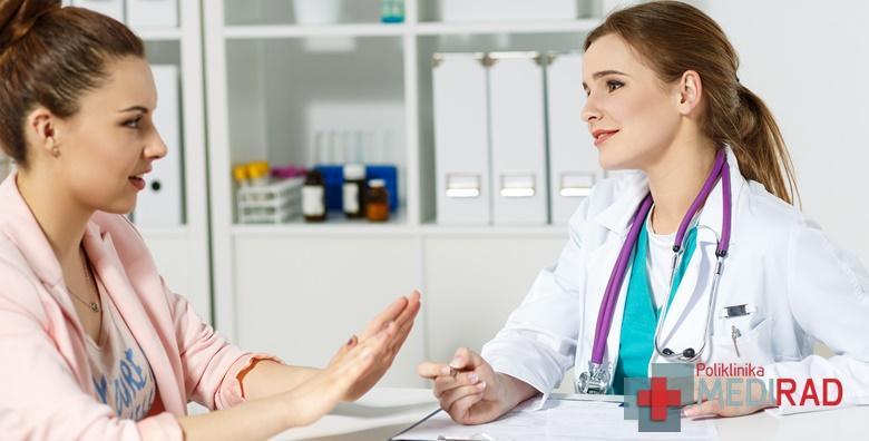 POPUST: 56% - Kompletan sistematski pregled za žene - obavite sve potrebne pretrage u jednom danu u Poliklinici Medirad za 549 kn! (Poliklinika Medirad)
