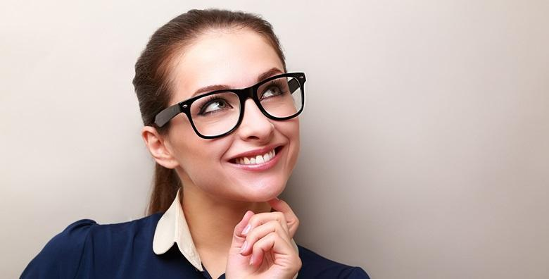 POPUST: 46% - PROGRESIVNE NAOČALE Savršen vid na svim udaljenostima uz kvalitetne naočale - jedinstveni okviri veselih boja i kvalitetne leće s čak 4 sloja zaštite! (Optika)