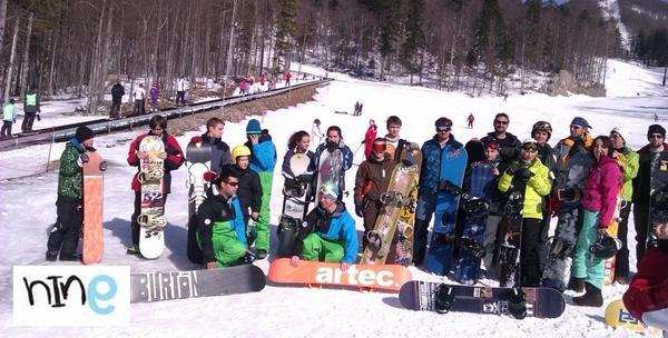 Dvodnevna škola snowboarda na Platku