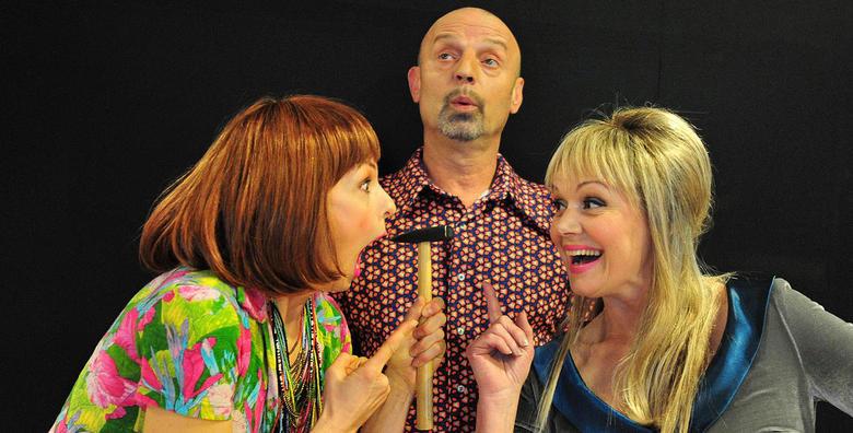 Predstava Dekorater - urnebesna komedija o ljubavnom trokutu, 28.4. u Lisinskom za samo 39 kn!