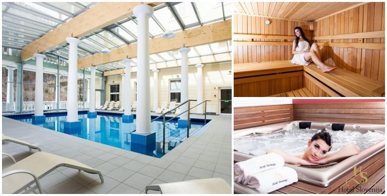 POPUST: 49% - Nagradite se zasluženim luksuznim odmorom u Rogaškoj Slatini uz 2 ili 3 noćenja s polupansionom i wellnessom u Hotelu Slovenija 4* za 2 osobe od 1.259 kn! (Hotel Slovenija 4*)