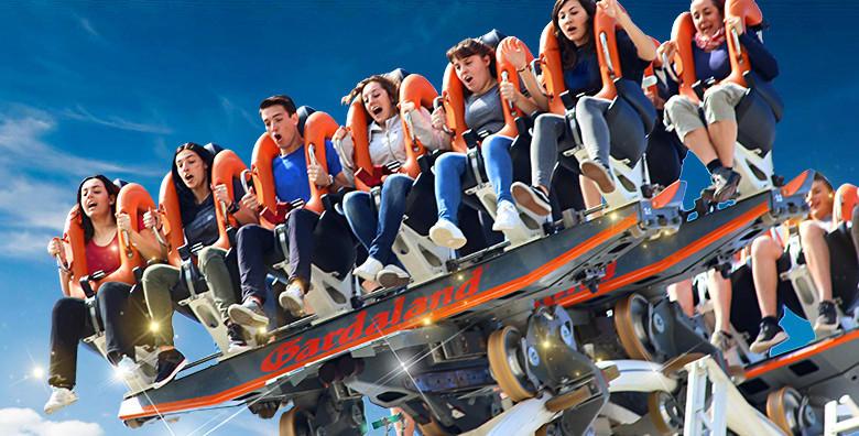 Ponuda dana: GARDALAND Odvaži se na adrenalinsku avanturu života i isprobaj vožnje na vrtoglavim spravama za 215 kn! (Putnička agencija Potočki travelID kod: HR-AB-49-97541362)