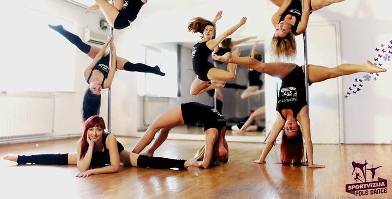 Ples na šipci - početni tečaj u trajanju mjesec dana uz super trenerice za 119 kn!