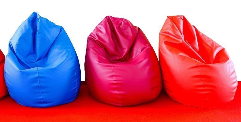 POPUST: 51% - Vreća za sjedenje Lazy bag - vrhunac zaigranosti u dizajnu interijera i originalan poklon za sve generacije već od 168 kn! (TABERNA TENTO j.d.o.o.)