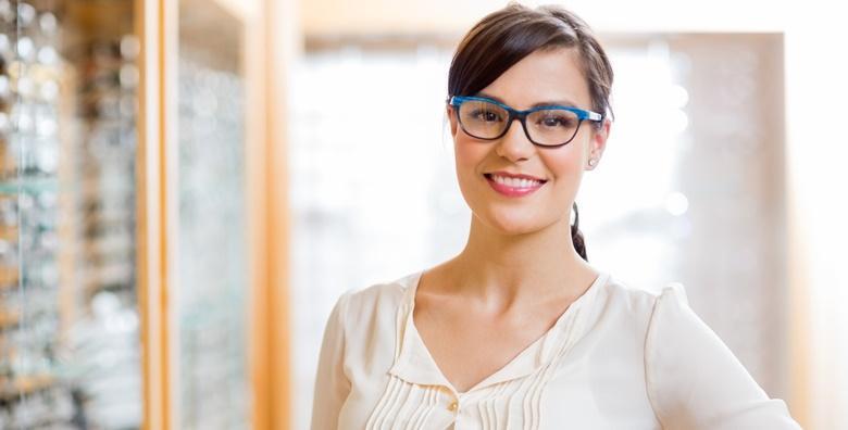 POPUST: 67% - OFTALMOLOŠKI Specijalistički pregled za dioptrijske naočale za djecu i odrasle uz mjerenje očnog tlaka u poznatoj Poliklinici i Optici Aralica za 99 kn! (Poliklinika Aralica Zagreb)