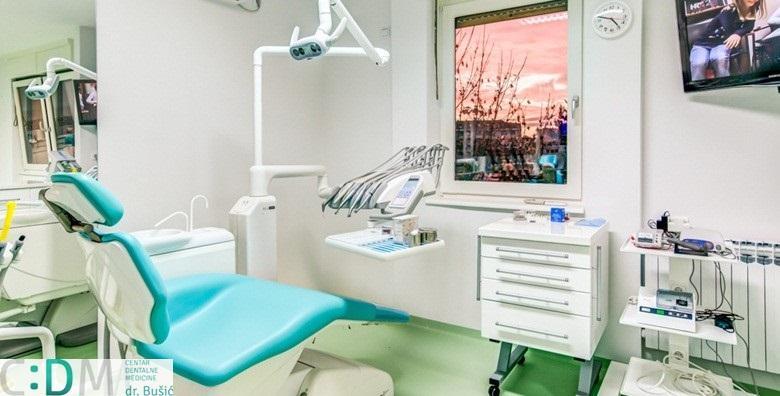 MEGA POPUST: 89% - Čišćenje zubnog kamenca, pjeskarenje i poliranje zubi - blistav osmijeh uz pomoć doktora s 40 godina iskustva za 99 kn! (Centar dentalne medicine dr. Bušić)