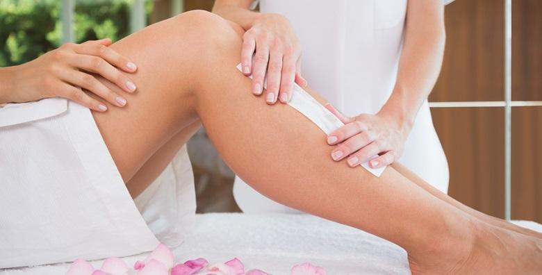 Depilacija cijelih nogu i bikini zone voskom u Salonu Golden Beauty za samo 69 kn!