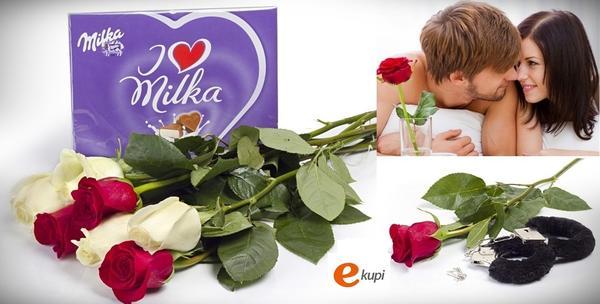 Ruže i čokolada ili krznene lisice i ruže