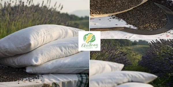 Jastuk od pira, jastučnica i aromaterapeutski jastučić