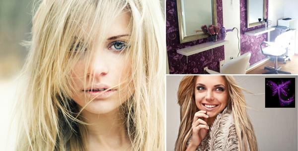Pramenovi bojanje šišanje fen frizura