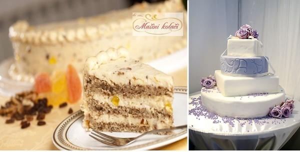 Torta – klasična ili svadbena za 100,150 ili 200 ljudi!