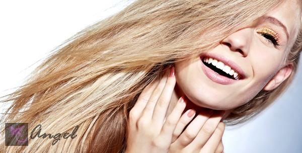 Ombre pramenovi, botox, šišanje, pranje kose i fen frizura