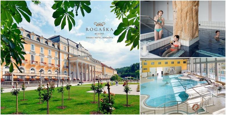 POPUST: 43% - ROGAŠKA RESORT Luksuzni jesenski odmor u Grand Hotelu Rogaška 4*!2 noći s polupansionom za dvoje uz bazene, whirlpool, saune i animaciju za 1.176 kn! (Grand hotel Rogaška 4*)