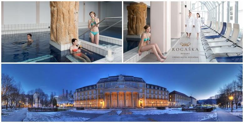 Zimska bajka u Grand Hotelu Rogaška 4*- 2 noćenja s polupansionom u dvokrevetnoj comfort sobi za 2 osobe za 1.176 kn!