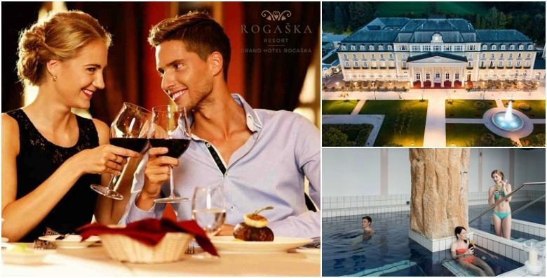 Valentinovo u Grand Hotelu Rogaška 4* - 2 noćenja za dvoje za 1.472 kn!