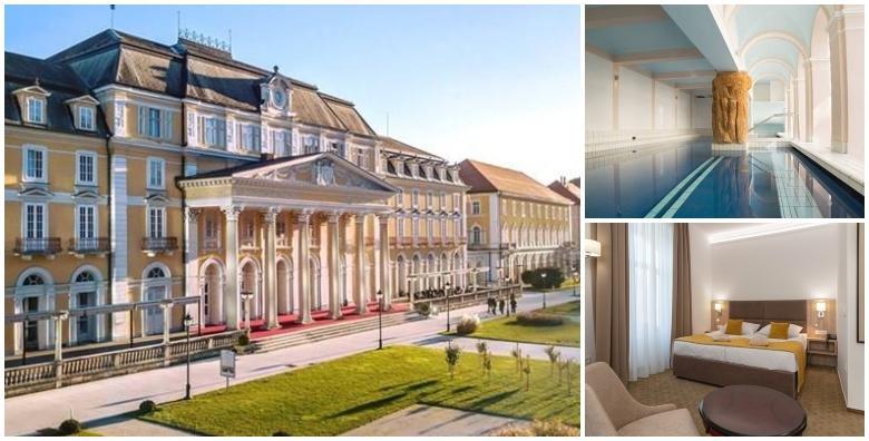 POPUST: 50% - Rogaška, jesenski odmor - 2 noćenja s polupansionom u Grand Hotelu Rogaška 4* za 2 osobe uz besplatan ulaz u termalni bazen, saune, fitness i whirlpool za 1.342 kn! (Grand hotel Rogaška 4*)