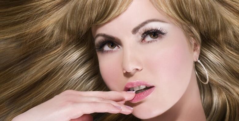 POPUST: 44% - Frizerske usluge - priuštite si željeni makeover kose uz kombinaciju frizerskih usluga po želji u salonu ljepote New Me od 139 kn! (NewMe salon ljepote)