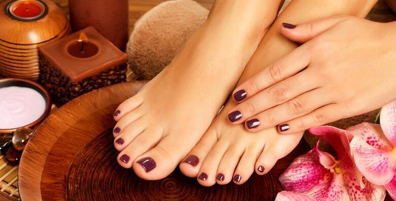 POPUST: 62% - Trajni lak uz klasičnu manikuru i estetsku pedikuru - uživajte u lijepim noktima na rukama i nogama koji traju tjednima u salonu ljepote New Me za 199 kn! (NewMe salon ljepote)