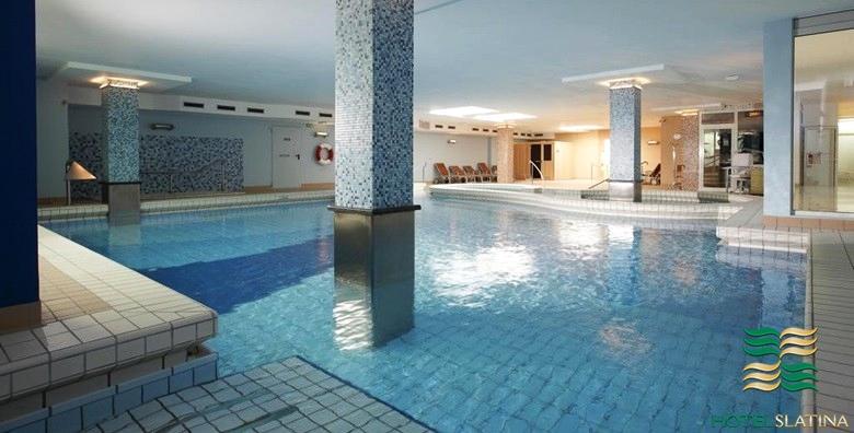 POPUST: 46% - ROGAŠKA SLATINA Hotel Slatina 4* - 2 noćenja s doručkom za dvoje uz neograničeno korištenje saune i bazena s termalnom vodom za 851 kn! (Hotel Slatina****)