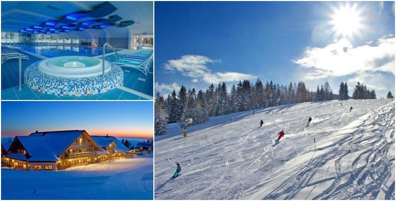 Skijanje u Sloveniji! Hotel Cerkno 3* - 3 noćenja s polupansionom za dvoje uz kupanje u termalnom bazenu i popust na cijene ski karata za 2.095 kn!