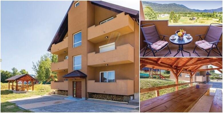 Bjelolasica - uživajte u odmoru na svježem planinskom zraku Gorskog kotara uz 1 ili 2 noćenja za 4 ili 6 osoba u Apartmanima Mirta 3* od 299 kn!