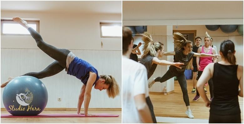POPUST: 60% - Pilates, Fat Burning Workout i Morning mix pilates - mjesec dana vježbanja uz kombinaciju treninga po želji u Studiju Hara već od 99 kn! (Studio Hara)