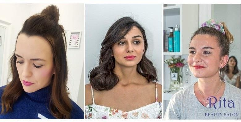 Dnevni make up uz šišanje i fen frizuru - priuštite si sofisticiran, svježi look za 149 kn!