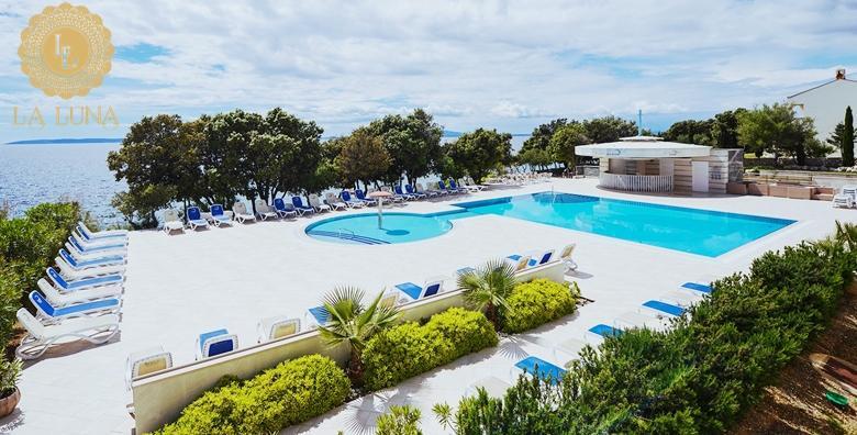 [PAG] La Luna Island Hotel 4* - ljetni odmor u jednom od najpoznatijih hotela u Hrvatskoj! 2 noći s polupansionom za dvoje i uživanje na privatnoj plaži za 1.737 kn!
