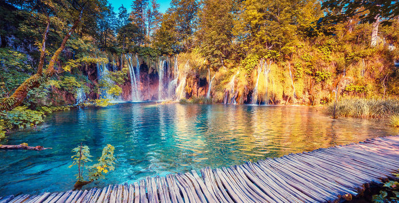 Plitvička jezera i Rastoke - izlet s prijevozom za 140 kn!