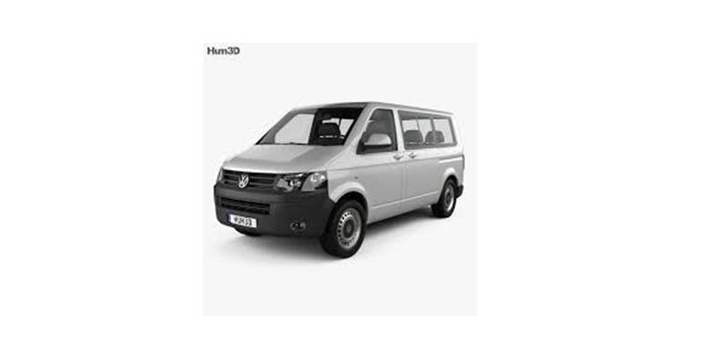 Najam kombija modela VW Transporter 4motion za 8+1 osobu od 400 kn!