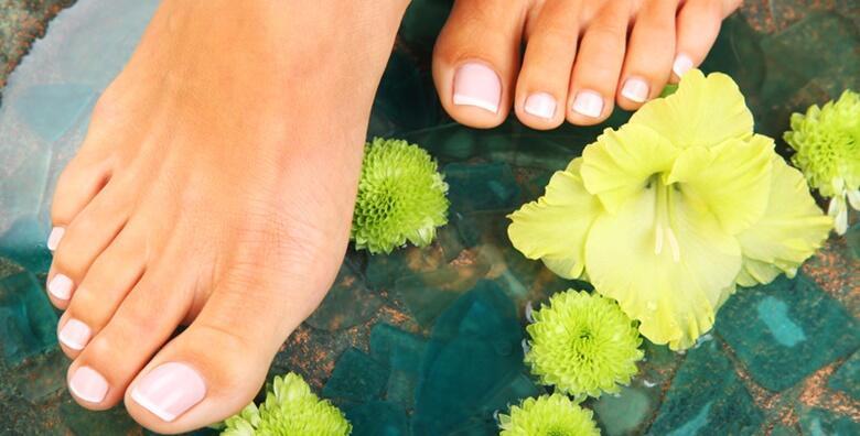 Trajni lak i medicinska pedikura - potpuni tretman za stopala u salonu Beauty Halla za 129 kn!