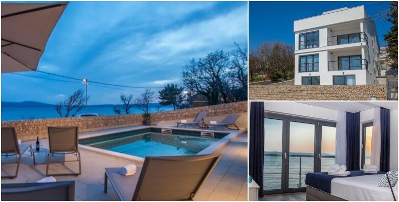 Novi Vinodolski 4* - luksuzni odmor za cijelu obitelj u apartmanima prvi red do mora od 2.250!