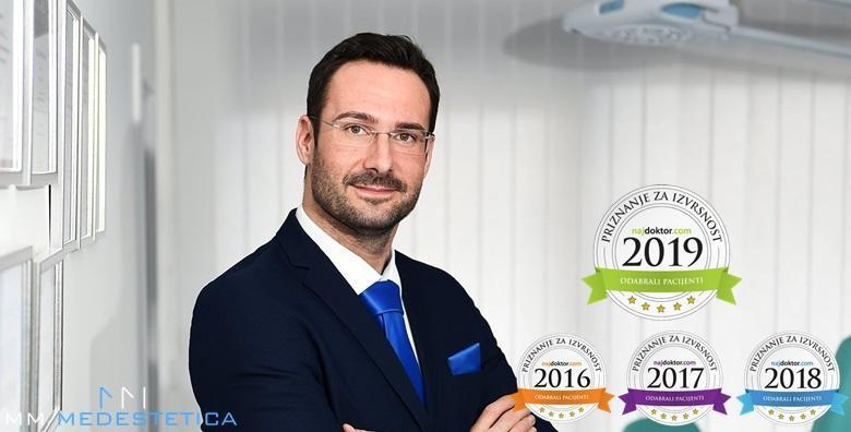 POPUST: 50% - KOREKCIJA VJEĐA - pomladite lice kod dr. Miletića, specijalista na tom području proglašenog Najdoktorom 2016., 2017., 2018. i 2019. godine! (ORDINACIJA MM Medestetica - Dr. Matija Miletić)