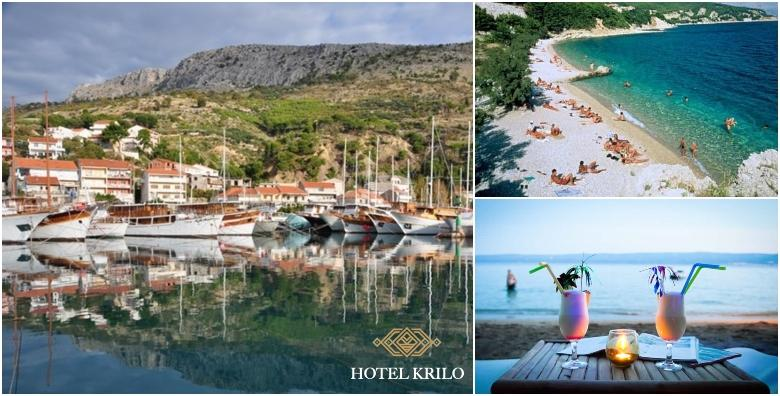 POPUST: 36% - SPLITSKA RIVIJERA Ljetna uživancija u ŠPICI SEZONE! 2, 5 ili 7 noćenja s polupansionom za dvoje u hotelu Krilo 3* tik do plaže od 1.899 kn! (Hotel Krilo 3*)