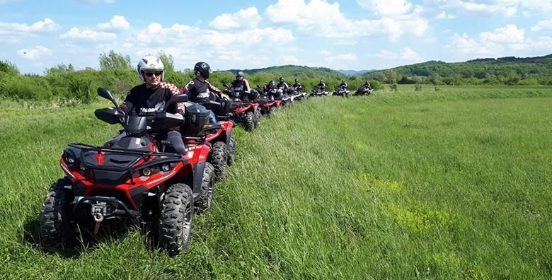 Ponuda dana: QUAD SAFARI Uzbudljiva ljetna avantura za 2 osobe! Adrenalinska vožnja do Bedekovčanskih jezera uz gađanje mete zračnom puškom za 562 kn! (Zagorje adventure)