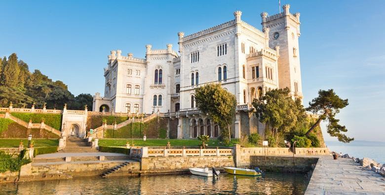 Trst i dvorac Miramare - cjelodnevni izlet s uključenim prijevozom za 199 kn!