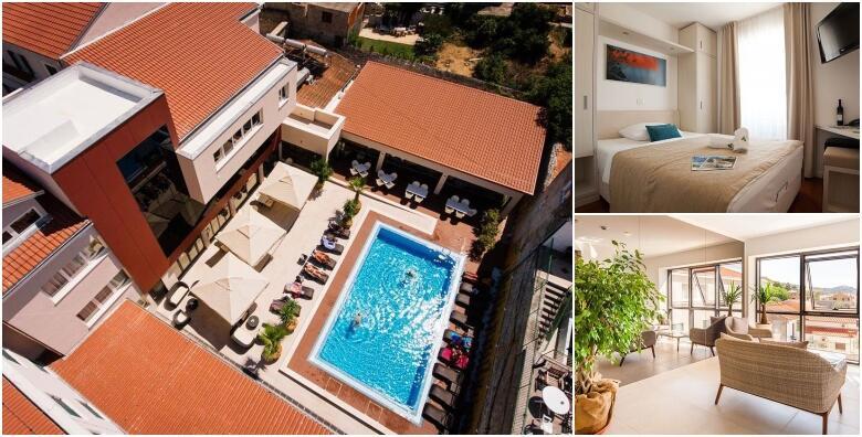 TISNO, otok Murter - savršeno ljetno uživanje u špici sezone uz 7 noćenja s polupansionom i korištenje bazena za 2 osobe i 2 djece u Hotelu Borovnik 4* od 4.999 kn!