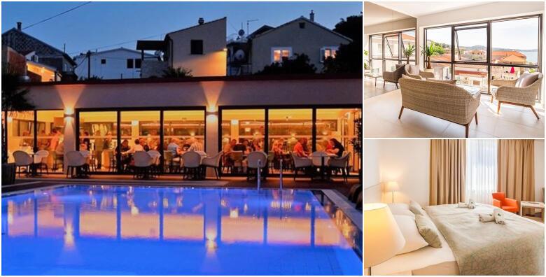 Murter, Tisno - opuštajući odmor uz 1 noćenje s polupansionom i neograničenim korištenjem bazena za 1 osobu u Hotelu Borovnik 4* od 357 kn!