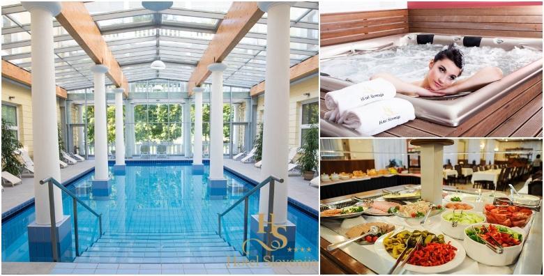 POPUST: 49% - ROGAŠKA SLATINA Wellness uživanje u Hotelu Slovenija 4* - 2 ili 3 noći s polupansionom za dvoje uz korištenje bazena, sauna i whirlpoola od 1.117 kn! (Hotel Slovenija****)