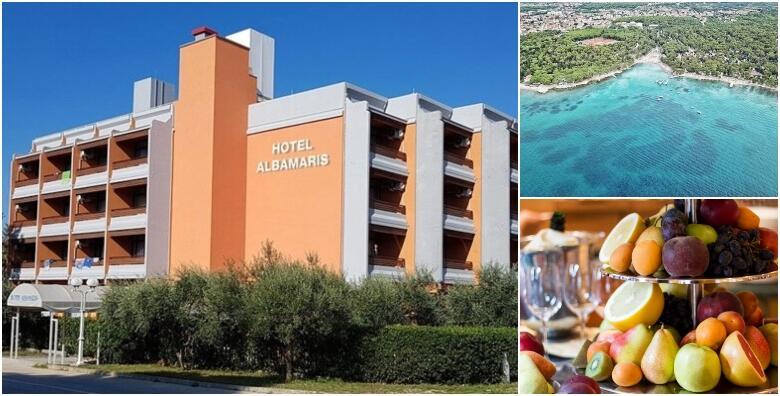 Biograd na Moru - 3,5 ili 7 noćenja s polupansionom za dvoje u Hotelu Albamaris 3* od 2.118 kn!