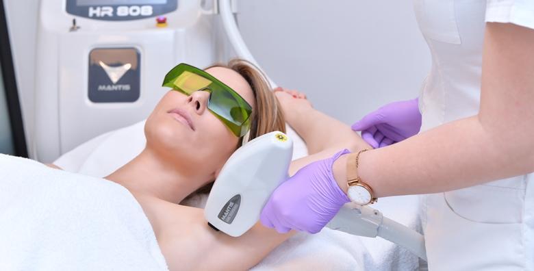 Laserska depilacija bikini zone ili pazuha - 5 dolazaka za 799 kn!