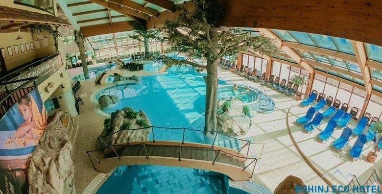 [BOHINJ ECO HOTEL****] 1 noćenje s doručkom za dvoje uz neograničeno kupanje u bazenima Vodenog parka i korištenje sauna za 792 kn!
