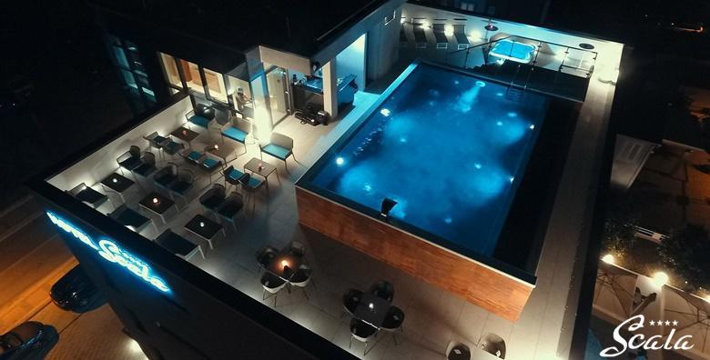 Ponuda dana: Vodice - 2 noćenja s doručkom za 2 osobe u Boutique Hotelu Scala d'Oro 4* uz korištenje grijanog bazena na krovnoj terasi te privatno korištenje saune (Boutique Hotel Scala d'Oro****)