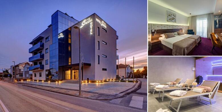 Odmor u Vodicama - 2 noćenja s doručkom za 2 osobe u ekskluzivnom Boutique Hotelu Scala d'Oro 4* uz korištenje saune u trajanju 2 sata za 1.100 kn!