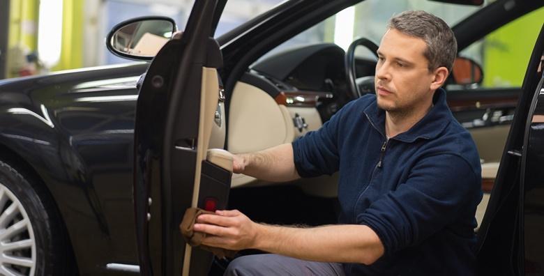 POPUST: 42% - Detailing vozila - kompletno kemijsko čišćenje unutrašnjosti uz pranje vozila, motora, štokova, felgi i staklenih površina, premaz voskom te premaz plastika za 699 kn! (Centar za njegu vozila Matić)