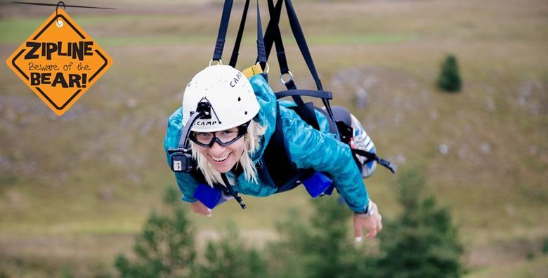 [ADRENALINSKI DAN] Doživi avanturu života uz najduži zipline spust u Europi brzine do 120 km/h, penjanje na umjetnu stijenu, najam bicikla i streličarstvo za 299 kn!
