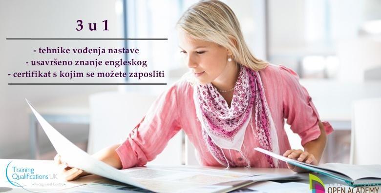 MEGA POPUST: 96% - TESOL CERTIFIKAT - steknite svjetski priznati certifikat s kojim možete predavati engleski diljem svijeta uz online tečaj u trajanju 120h za 35 kn! (International Open Academy)