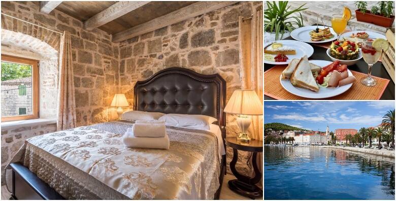 Split, Heritage Palace Varoš 4* - 1 ili više noćenje za 2 osobe uz bocu pjenušca te popust na restorane i kozmetičke usluge po odličnoj cijeni već od 405 kn!
