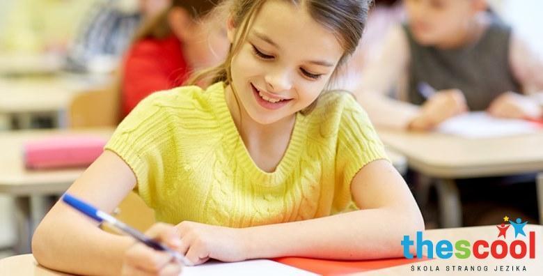 POPUST: 50% - Engleski za djecu 5. do 8. razreda osnovne - intenzivne radionice na kojima će upotpuniti znanje i ponoviti gradivo prije početka nove školske godine za 300 kn! (The Scool jdoo)