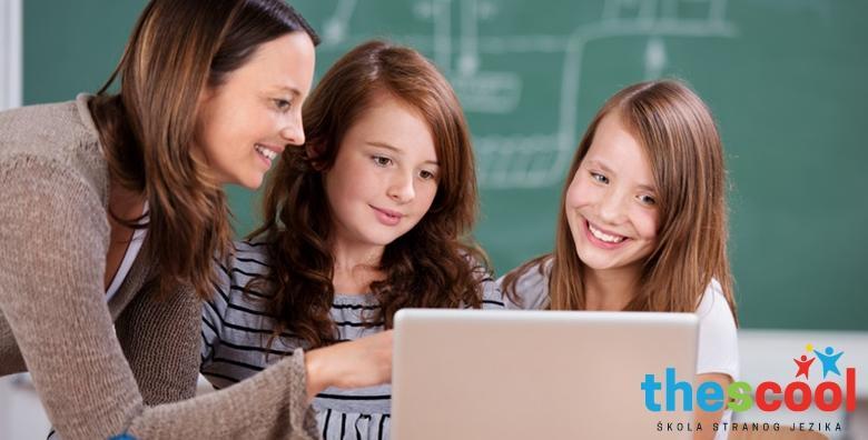 POPUST: 50% - Engleski za djecu od 10 do 14 godina - mjesec dana učenja uz rad u malim grupama, zabavne aktivnosti, igre, glazbu i video materijale za 149 kn! (The Scool jdoo)